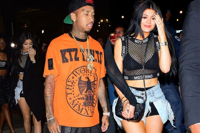 Kylie Jenner and Tyga Party With Scott Disick