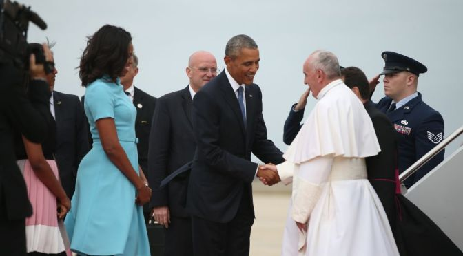 No Pomp and Pageantry…Just a Fiat! Pope Francis' Historic And Humble U.S. Arrival