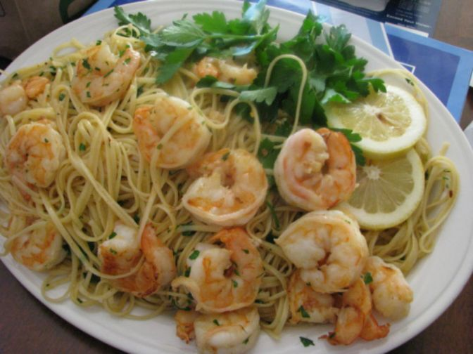 What's For Dinner? How About Linguine with Shrimp Scampi