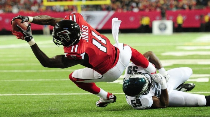The Falcons Look Fast And Furious In Season Opener