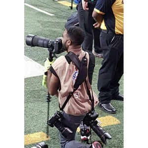 Sports Wire Photographer Jay Pearson captures the action