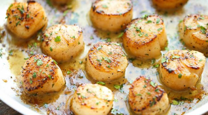 Delicious Lemon Butter Scallops In 20 minutes or Less