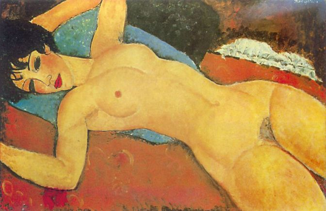 La Pintura Escandaloso: Modigliani Nude Could Bring Christie's $100 million