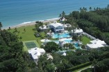 From Above The property is five and a half acres, with over 400 feet of coastline.