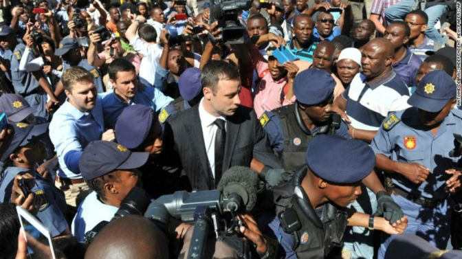 Oscar Pistorius Going Home After Just One Year