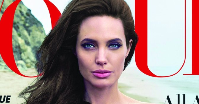 The Jolie-Pitts: Angelina Covers Vogue Set To Star In 'By the Sea' with Brad