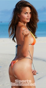 Swimsuit 2014: Cook Islands Chrissy Teigen Beach/Rarotonga, Cook Islands, New Zealand 10/29/2013 X157130 TK4 Credit: James Macari