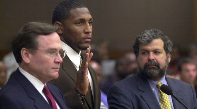 Ray Lewis Comments About Atlanta Murder Charges In New Book