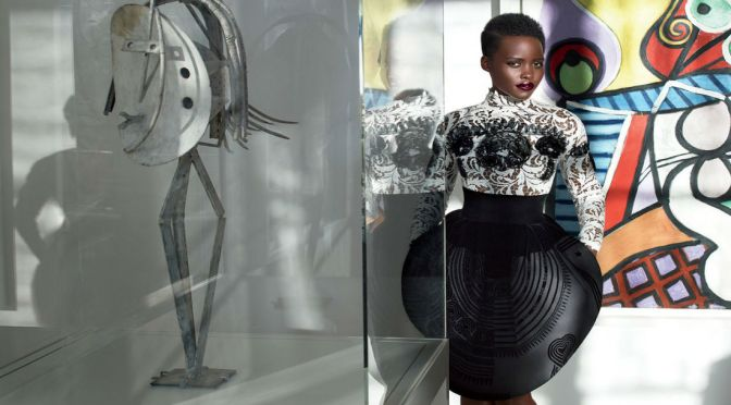 The Sun Queen: Lupita Sizzles In Fall Couture Collections