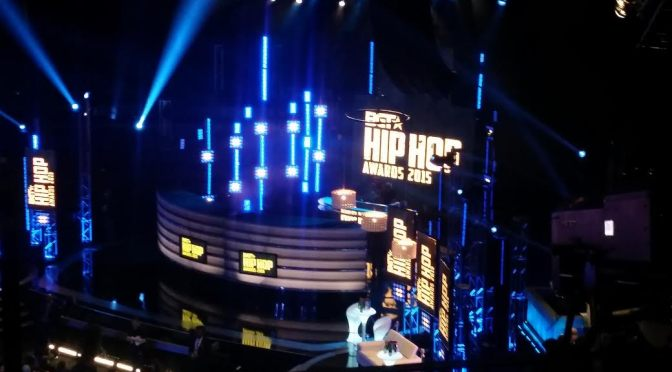 Early Preview of the 2015 B.E.T. Hip-Hop Awards Green Carpet & Stage Performances