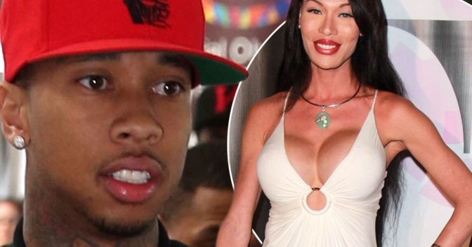 Tyga Linked To Transgender Escort Who Had Relations With Charlie Sheen
