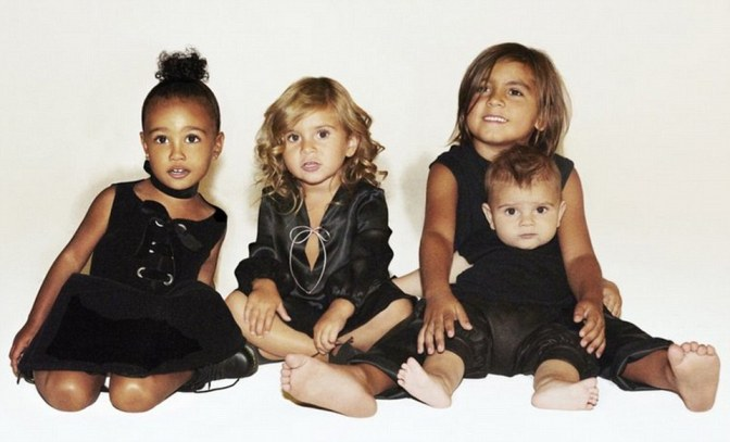 Where's Saint? Adorable Kardashian Kids Holiday Card