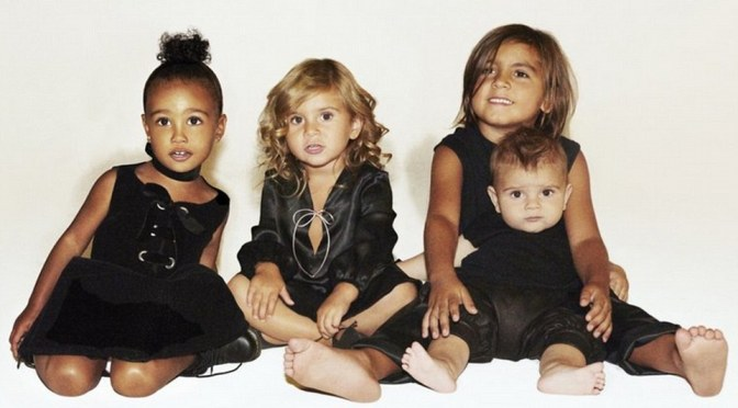 Where's Saint? Adorable Kardashian Kids Holiday Card