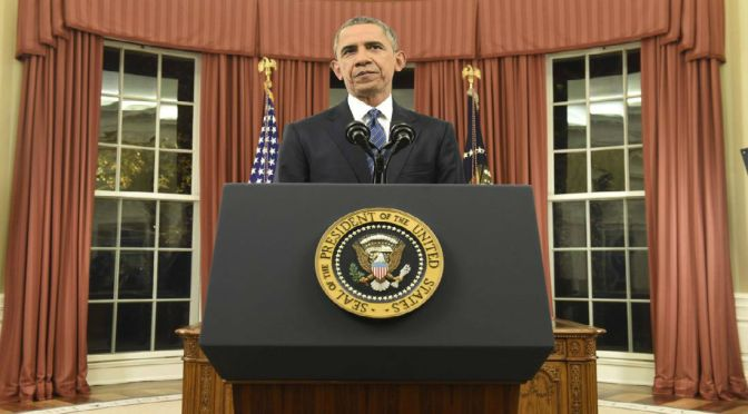President Obama Addresses The Nation On Keeping America Safe