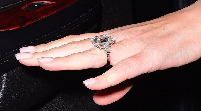 Third Time's A Charm! Mariah Carey Flashes $7.5 Million Engagement Ring After Billionaire Boyfriend Pops The Question