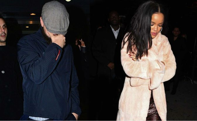 Leonardo Dicaprio Reportedly Trying To Use French Laws To Block Pic Of Him And RiRi Kissing