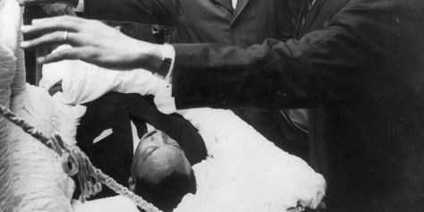 Martin Luther King Lying In State
