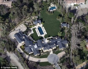 Kim and Kanye's new house, if they ever finish it!