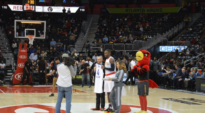 Paul Millsap Receives Jersey For 3rd Straight All-Star Appearance