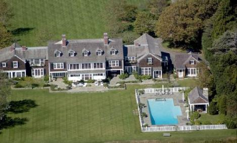 You can find this beauty in East Hampton, Seinfeld paid 32 million for this massive 24 room home. It also comes with 14 fireplaces, tennis court, smoking room and music room. You could pretty much spend one night a month in each room and have a fire every other night.
