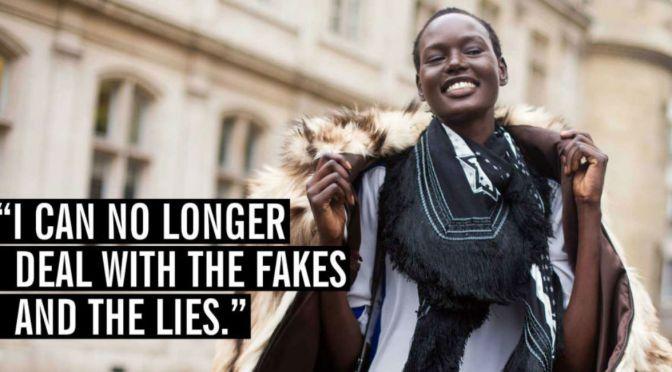 Australian Model Ajak Deng Quits Modeling