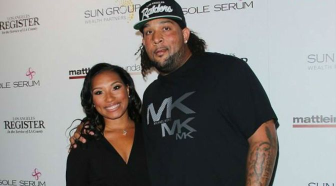Dirty Laundry: Oakland Raiders Star Donald Penn's Wife Accuses Him Of Having A Baby With BGC/ANTM's Camilla Poindexter
