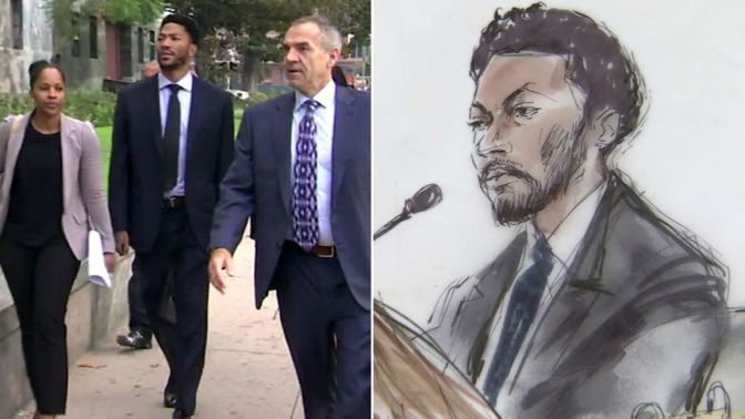 NBA Star Derrick Rose Cleared Of All Charges In $21.5 Million Rape Trial