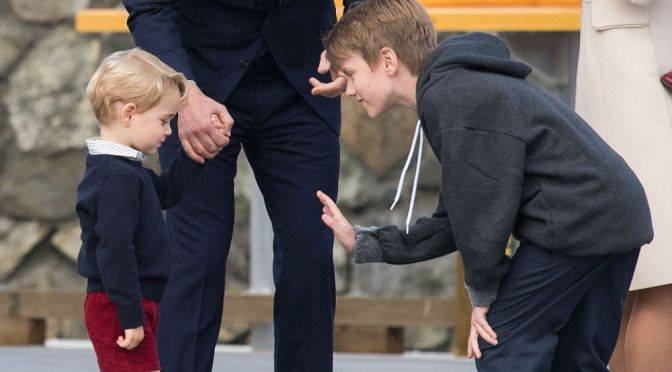 Prince George Is Not With The Sh***