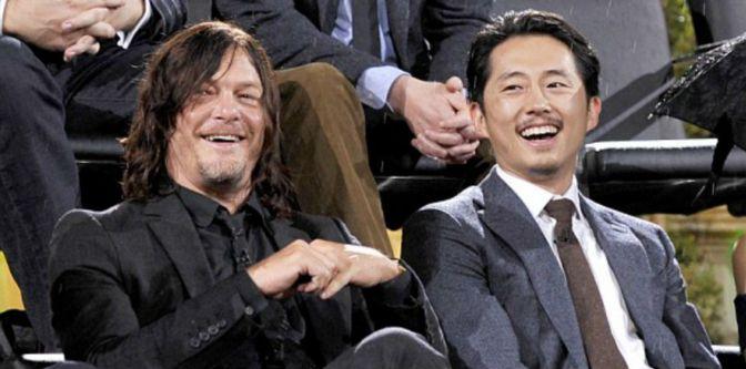 Cast of The Walking Dead Talk Shocking Seventh Season Premiere