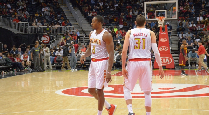 Dwight Howard Officially Makes His Debut For The Atlanta Hawks Hitting 26 During Unity Game Against The Cavs