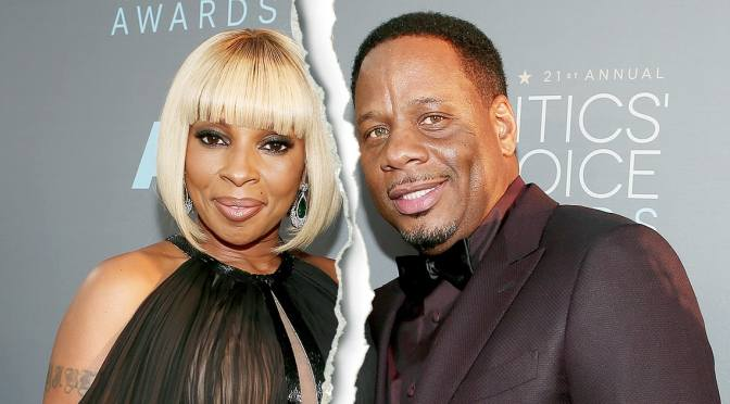 I Ain't Saying He's A Gold Digger.. But..Well Actually He Is: Mary J. Blige's Soon To Be Ex-Husband Wants Her To Maintain His Lifestyle, His Parents' And His Kids'
