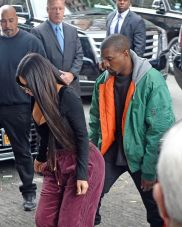 The West's arrive at their apartment in NY.