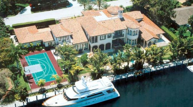 Inside Scottie Pippen's $16 Million Dollar Florida Mansion