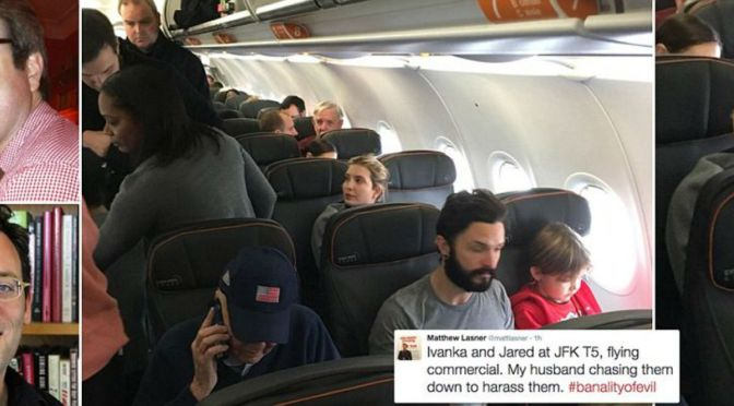 New York Lawyer Accosts Ivanka Trump On JetBlue While His Husband Tweets About The Harassment Before Getting Kicked Off  Flight
