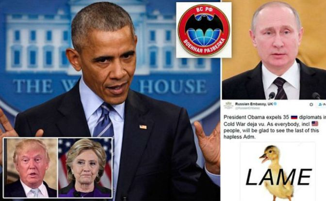 Russian Spies Have 72 Hours To Leave Country As President Obama Retaliates Against Russia For Election Tampering