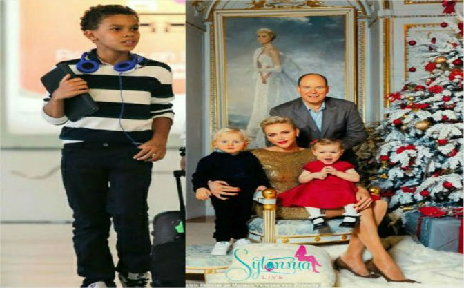 He Forgot One! Where's Alexandre? Prince Albert Of Monaco Releases Royal Christmas Card With Wife And Twins