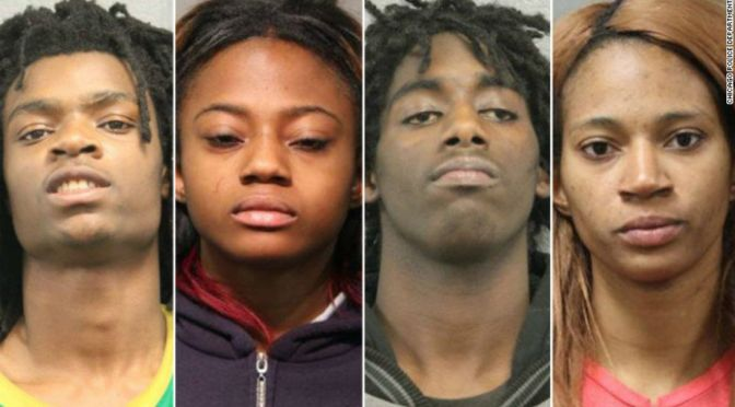 Four People Who Tortured Man In Chicago and Live Streamed It On FB Will Be Charged With Hate Crime
