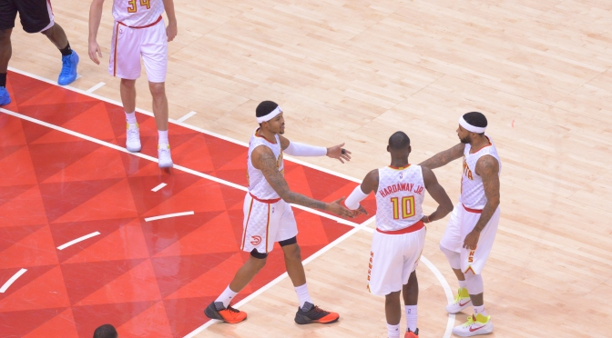 {Video} Kent Bazemore And The Hawks Fight Back From a 20 Point Deficit But Not Enough To Outplay Deep Clippers Team