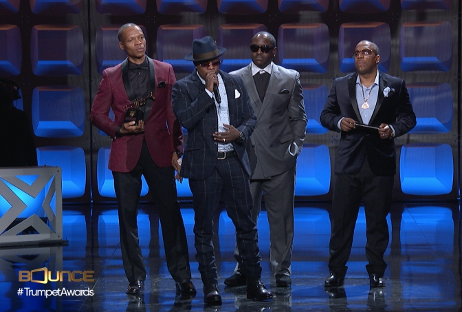 Trumpet Awards Honor New Edition With Lifetime Achievement Award After Monster Biopic And Hollywood Blvd Star