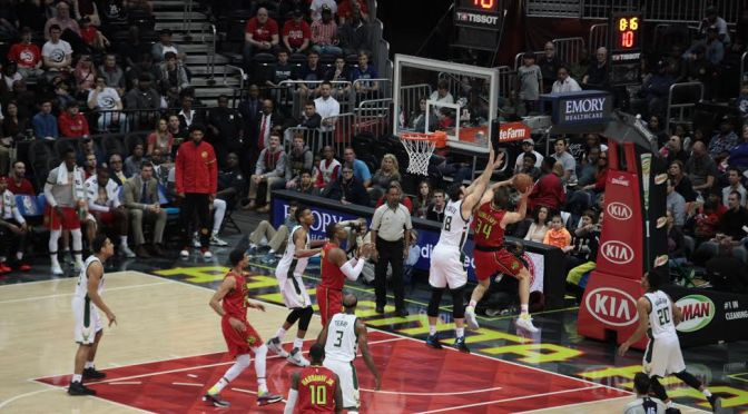 Dunleavy Fitting Right In With Hawks, Hits 20 In 111-98 Win Over Bucks