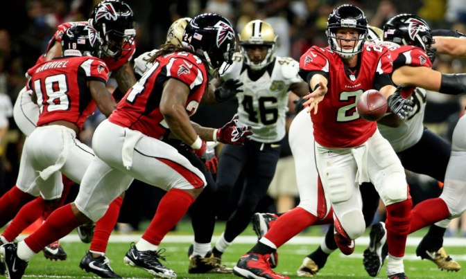 Falcons Ready For The Playoffs After Beating Saints 38-32