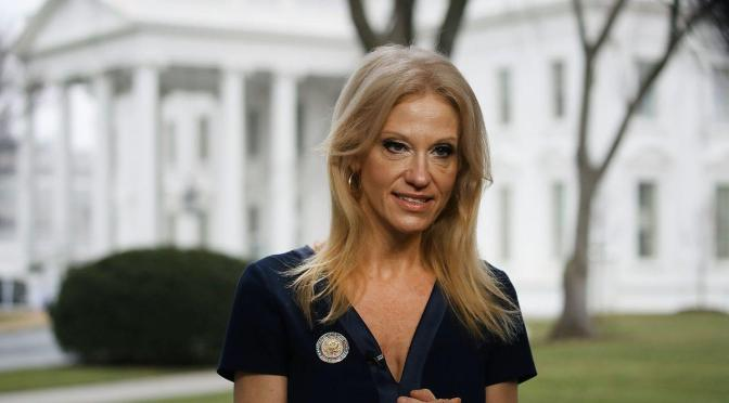 The Trump-Way: Kellyanne Conway Violates Ethics Rules With Fashion Plug