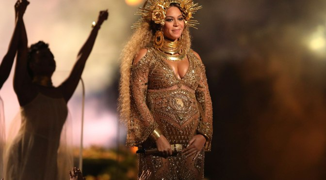 Beyonce Brings Beautiful Bump And Theater To Grammy Awards