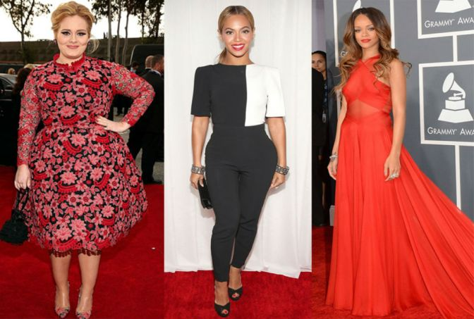 Battle Of The Babes: Beyonce, Rihanna And Adele All Up For Record Of The Year
