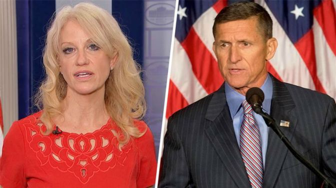 Kellyanne Conway At Odds Again With The Truth After Spicer Says Trump Did In Fact Ask For Flynn's Resignation