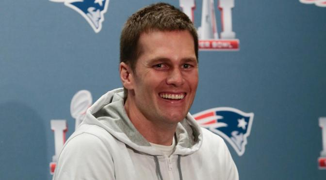 One Last Presser For Tom Brady And The Pats Before the Big Game