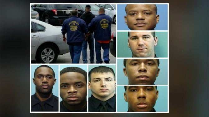 The Real Life Wire, 7 Officers In Baltimore Facing Federal Charges For Corruption