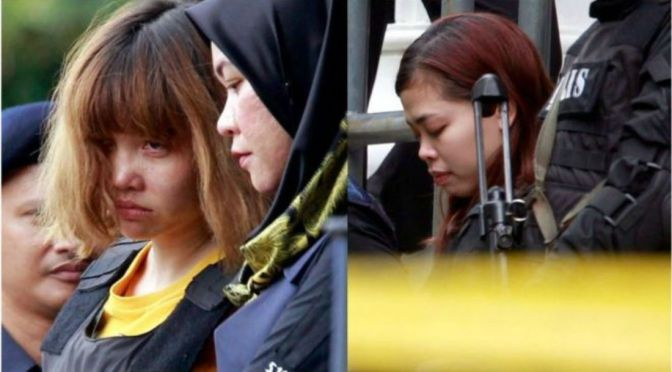 Inside Job? Two Women Officially Charged With Murder After Using Nerve Agent To Kill Kim Jong Nam