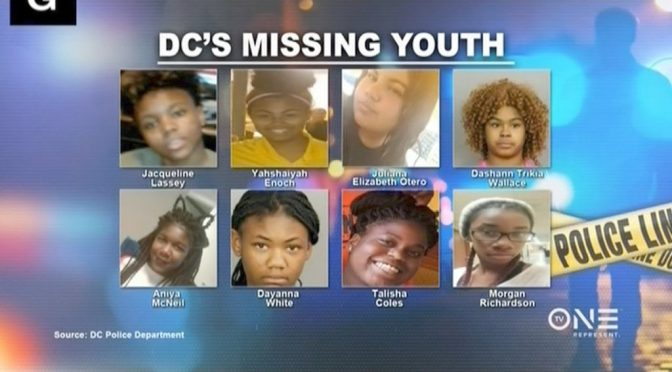 14 Black And Hispanic Girls Kidnapped In DC Over The Last 24 Hours?
