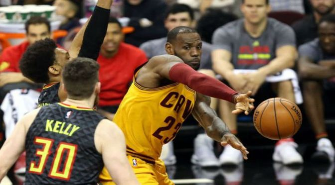 Hawks Stun Cavs With Second Stream Team, Playoffs In Sight